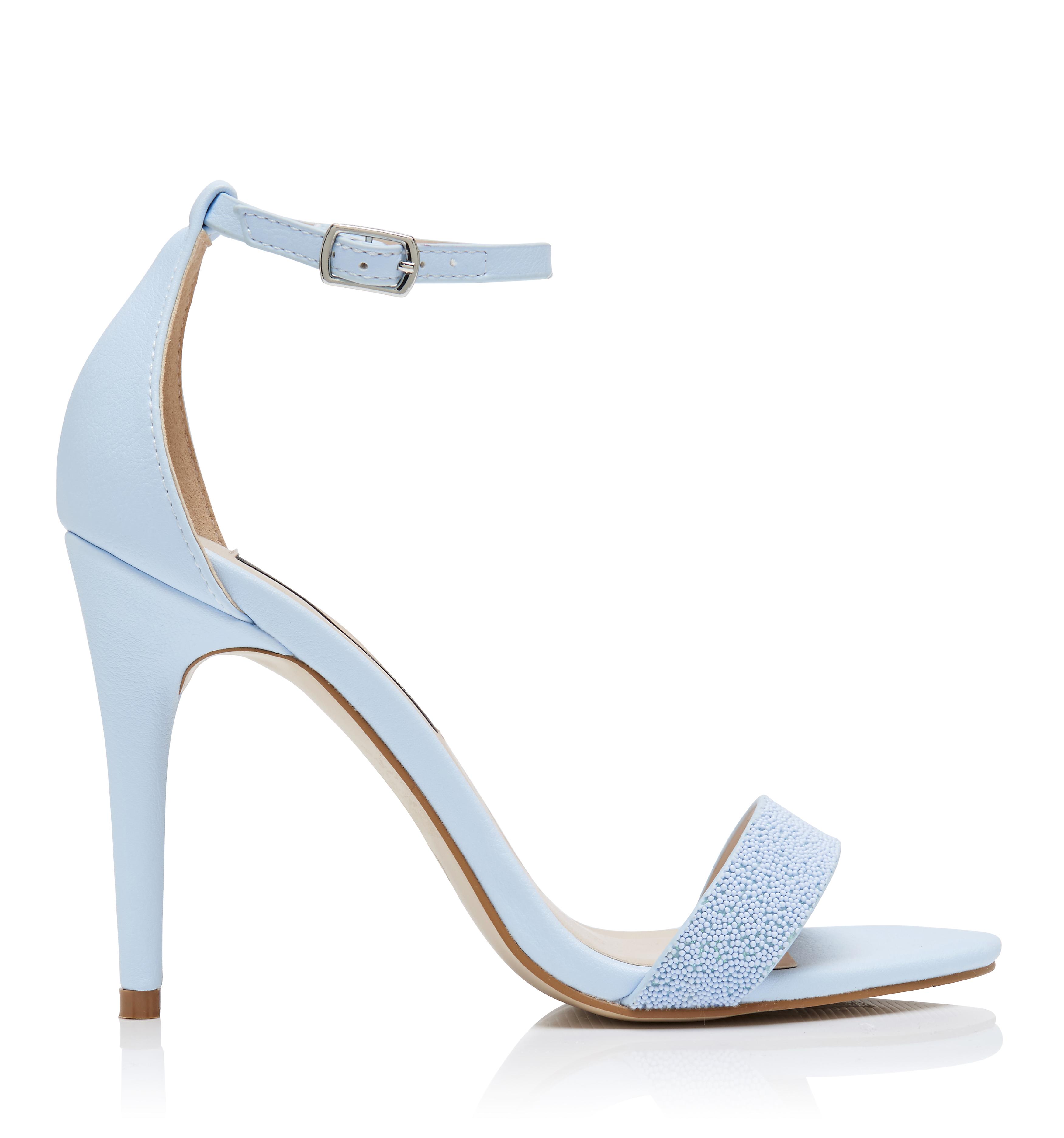 Ice Blue Heels